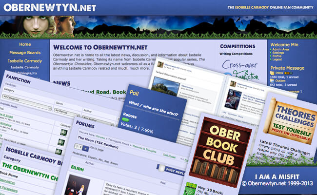 Obernewtyn.net website