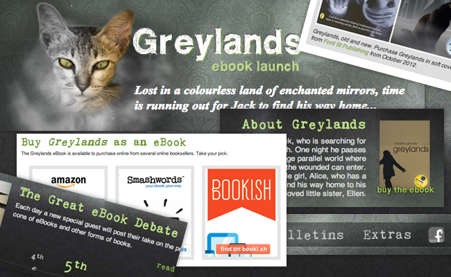 Greylands eBook Launch Website