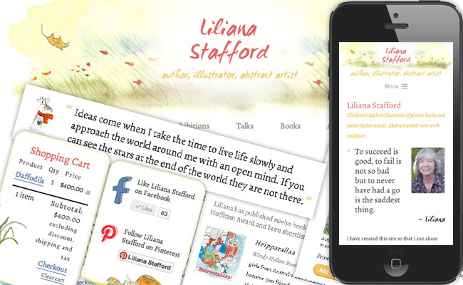 Liliana Stafford website