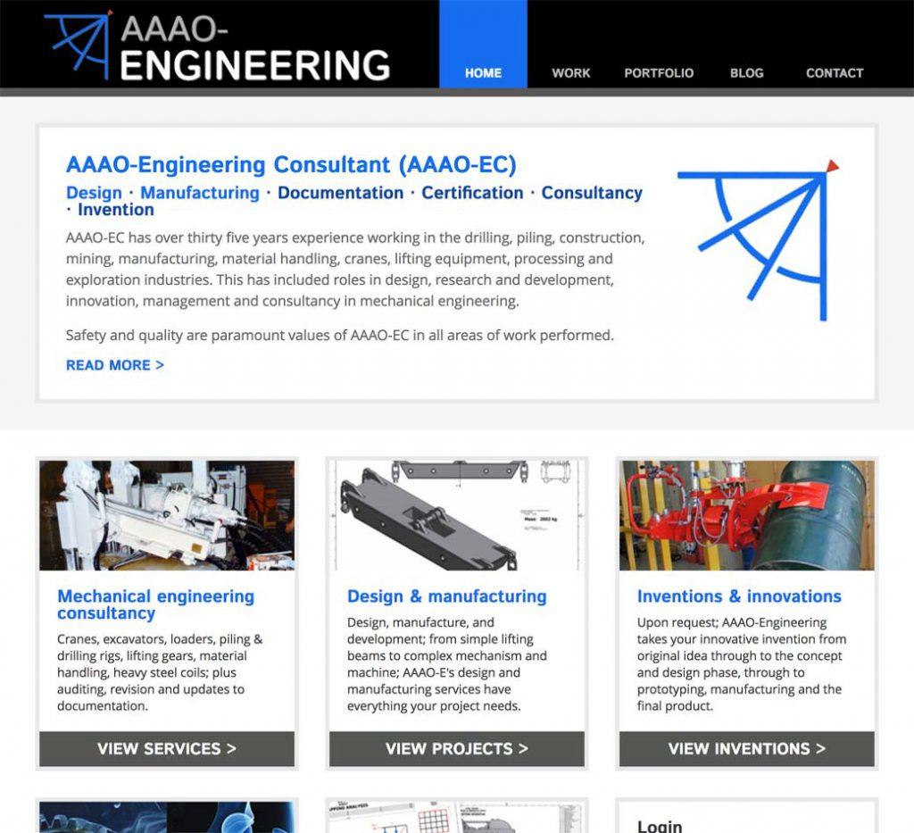 Engineering homepage.