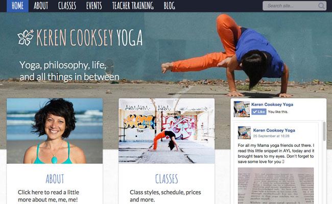 Keren Cooksey Yoga