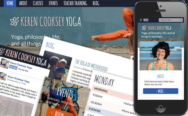Keren Cooksey Yoga / Falmouth YogaSpace