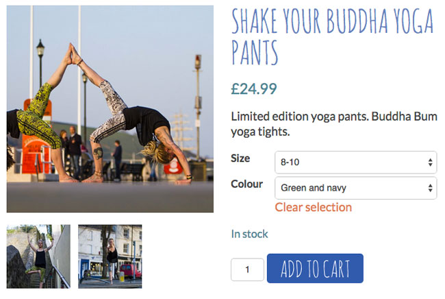 Falmouth YogaSpace shop