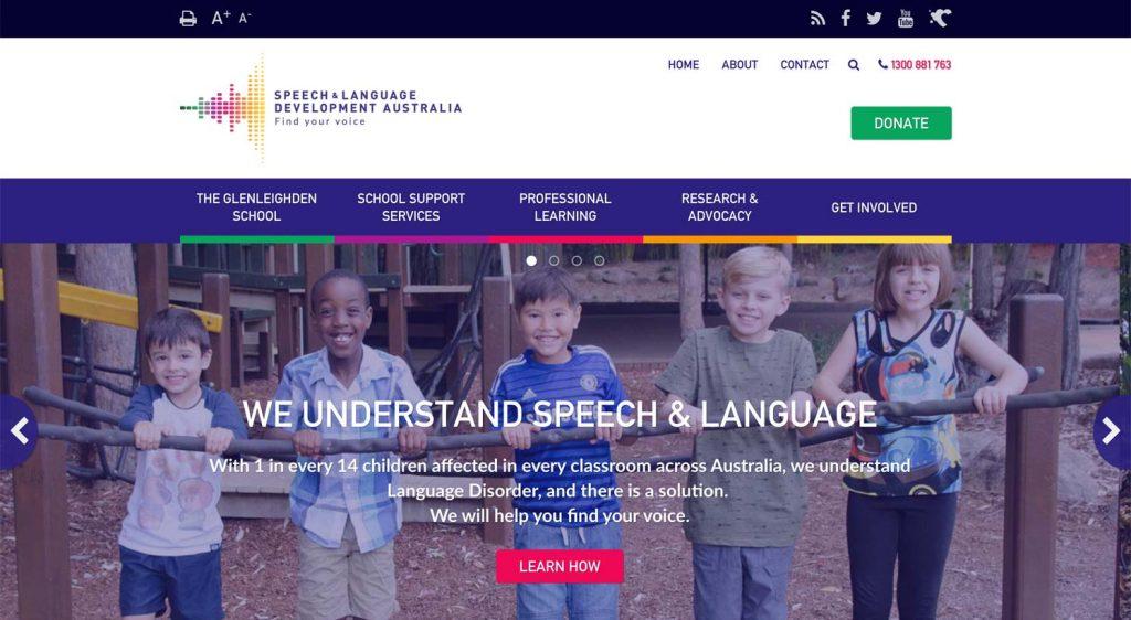 The SALDA homepage